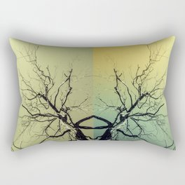 Unknown Ghost of the Forest Rectangular Pillow