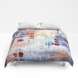 abstract collective: lazy dayz Comforters