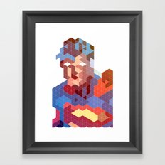 Geometric Super Framed Art Print
