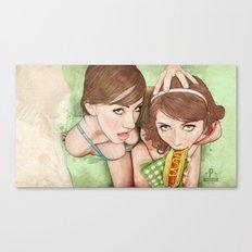 Life's a Picnic, Bring Your Friend Canvas Print