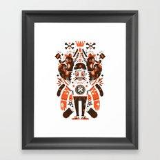 Newfren Monsters Framed Art Print