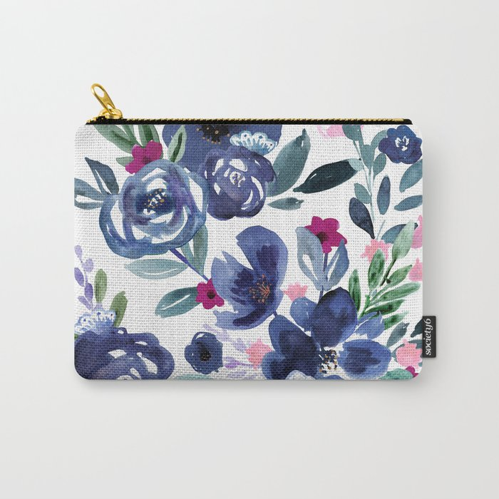 Athena Flowers Carry-All Pouch