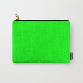 Lime Green Carry-All Pouch