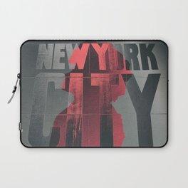 NEW YORK AFRO CITY Laptop Sleeve