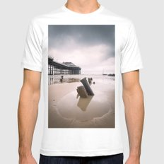 Cromer - Winter Day Mens Fitted Tee White MEDIUM