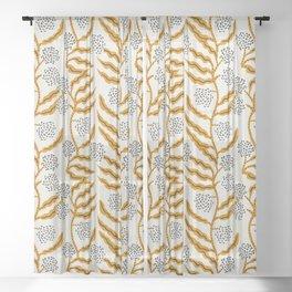 LA VILLE VINE Sheer Curtain