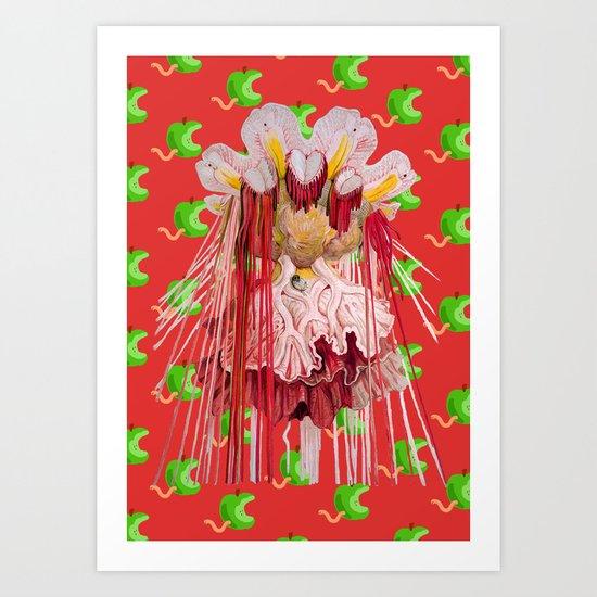 Medusae Art Print