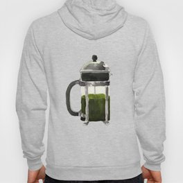 French Press - Olive Green Hoody