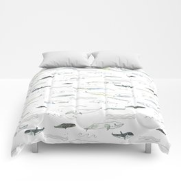 Whales Comforters