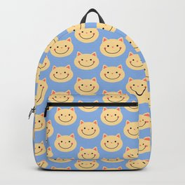 Happiness Cats Pattern Backpack