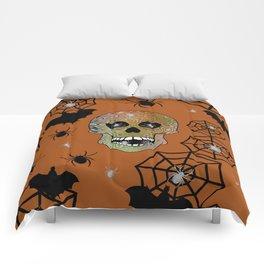 Creepy Halloween Comforters