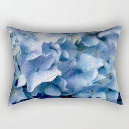Soft Hydrangea Rectangular Pillow