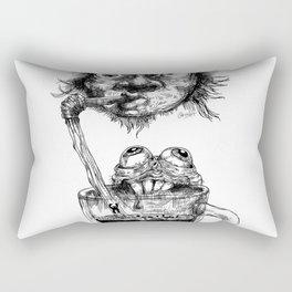 Graphic face Rectangular Pillow