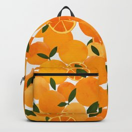 mediterranean oranges still life  Backpack