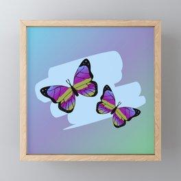 Fly to freedom Framed Mini Art Print