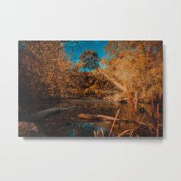 Quiet Creek II. Landscape Photography Metal Print