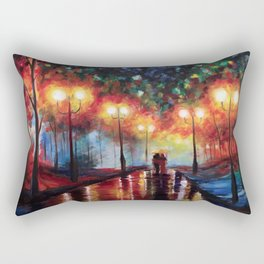 Ted and Tracy Mosby Rectangular Pillow