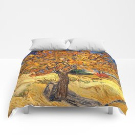 The Mulberry Tree by Vincent van Gogh Comforters