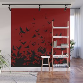 An Unkindness of Ravens Wall Mural