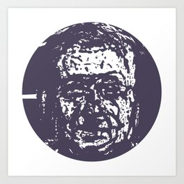Faces, 6 Art Print