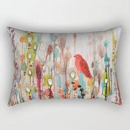 la vie comme un passage Rectangular Pillow