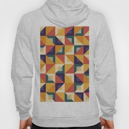 Colorful Triangle Pattern Hoody