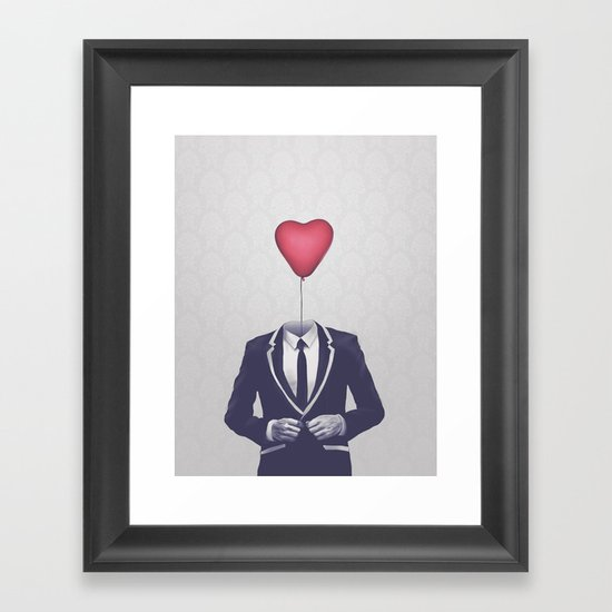 Mr. Valentine Framed Art Print