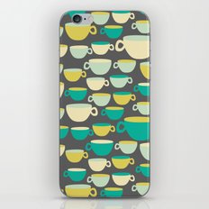 Coffee Mugs iPhone & iPod Skin