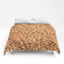 Mac & Cheese Pattern Comforters