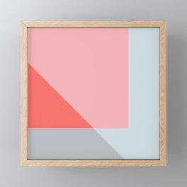 Mélange No. 2 Modern Geometric Framed Mini Art Print