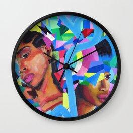 Through and Through Wall Clock
