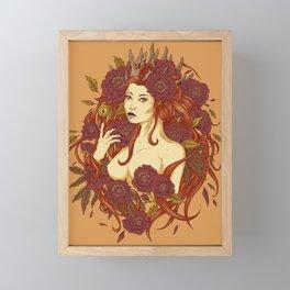 goddess gaia Framed Mini Art Print