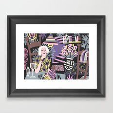 Self-portrait Framed Art Print