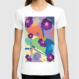 Morning Glory Collage T-shirt