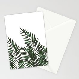 Palm Leaves Green Stationery Cards