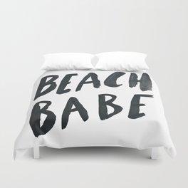 Beach Babe Duvet Cover