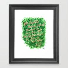 Natural Resources - Zig Wisdom Inspiration Print #19 Framed Art Print
