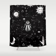 Spiritual Alchemy Shower Curtain