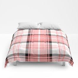 Pink Tartan Comforters