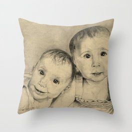Sisterly Love Throw Pillow