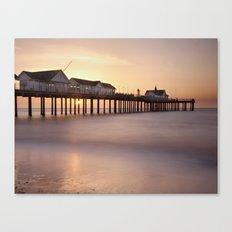 Southwold Pier at Sunrise Canvas Print