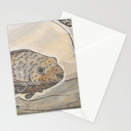 Fishes  /  Mirror underwater Stationery Cards