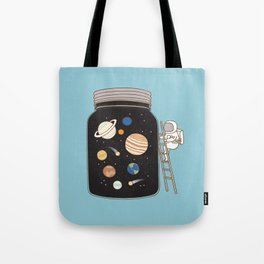 confined space Tote Bag