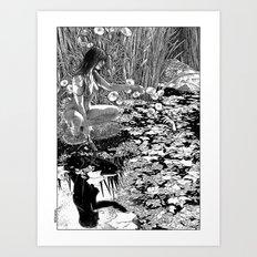 asc 534 - La Dame du lac (Viviane) Art Print