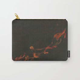 Campfire Flame Carry-All Pouch
