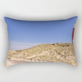II - Lighthouse on the island of Texel in The Netherlands Rectangular Pillow