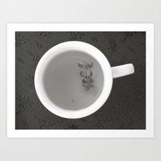 Teacup Art Print