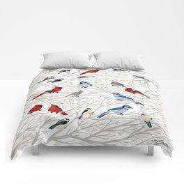 Winter Birds Comforters