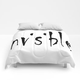 Invisible Typography Design For Chronic Illness Comforters