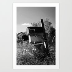Country Mail #2 Art Print